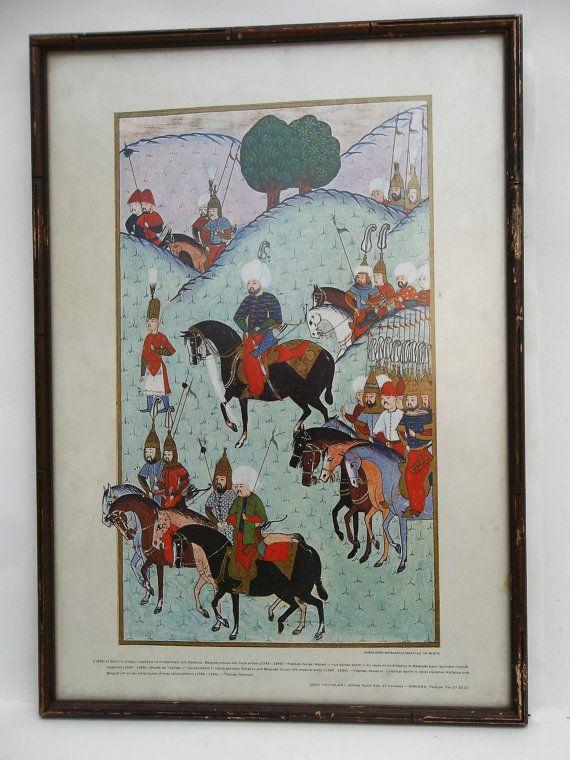 Sultan Selim II Riding between Kutahya and by LotusatNight on Etsy
