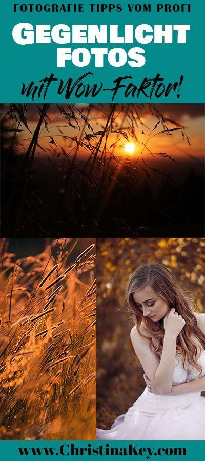 Hintergrundbeleuchtung Fototipps