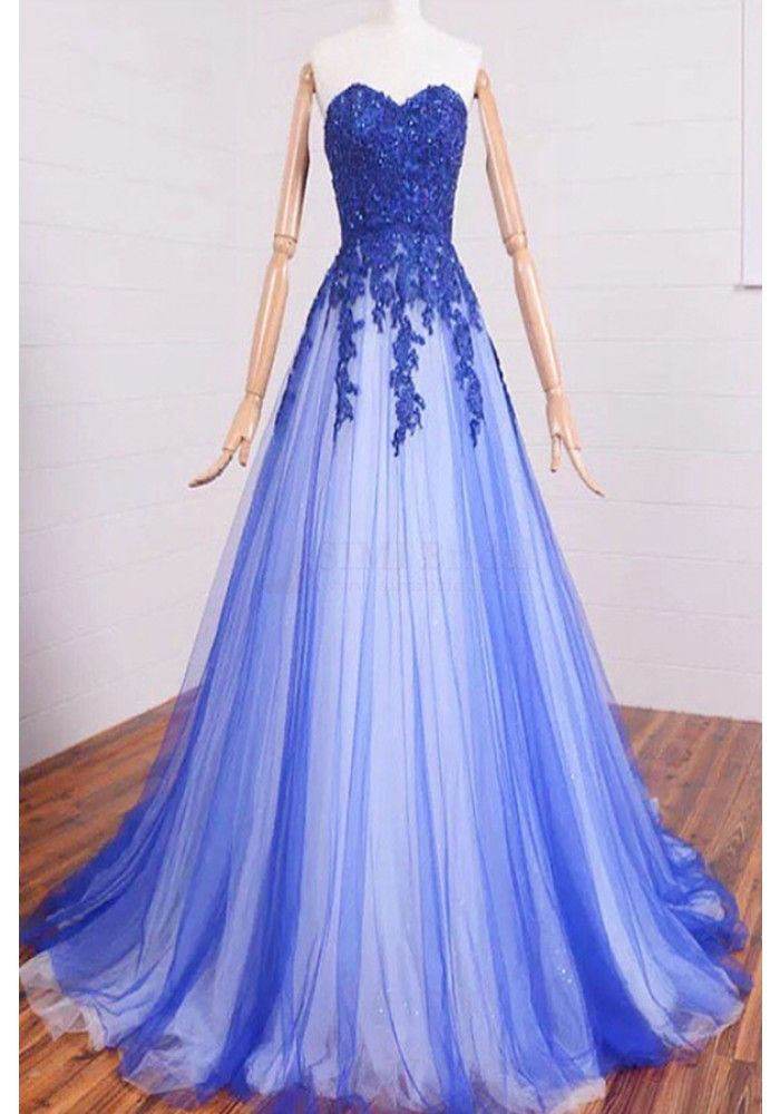 A-line Sweetheart long gowns online