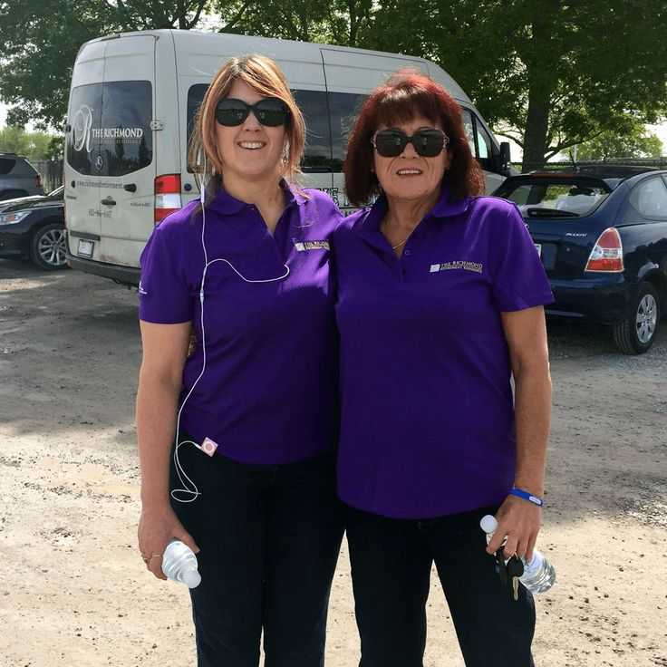Monique (GM) and Marion (Marketing) of the Richmond participated in the annual Walk.   It was a beautiful day to be involved in such a meaningful charity.  We enjoyed our walk and look forward to next year.