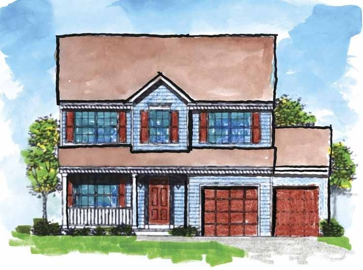 Eplans colonial house plan four bedroom colonial revival for Www eplans com