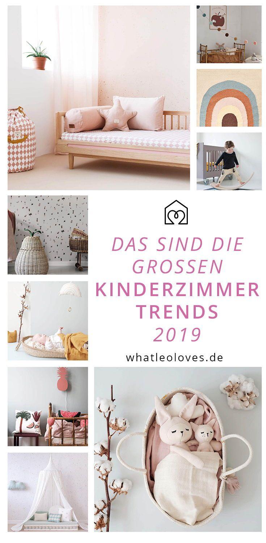 Das sind die großen Kinderzimmer-Trends 2019…