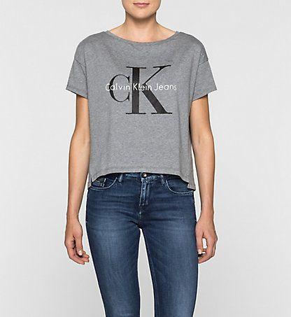 T-shirt Avec Logo Femmes   Calvin Klein® France