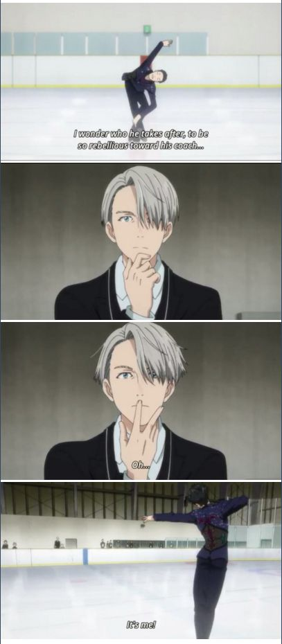 Understanding why bae doesn't listen | Yuri Katsuki | Viktor Nikiforov | Yuri on Ice | YOI