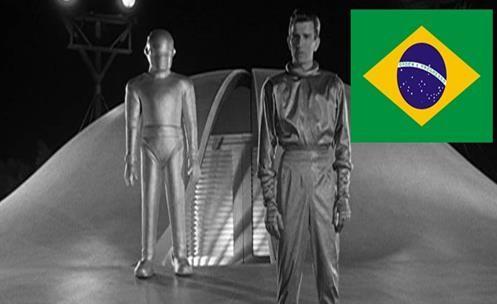 BRASIL - Chegada de ETs em Casimiro de abreu R.J Lembra o Filme o Dia em que a Terra Parou!!