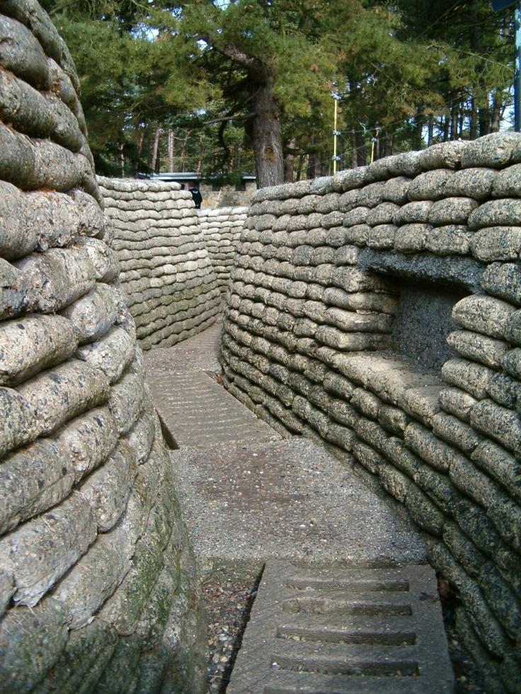 Vimy Ridge, France - amazing. Lest we forget.