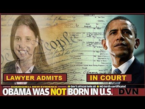 "Shocker: Even Obama Lawyers Admit Birth Certificate Forged: ""But Eligibility's A Separate Matter"" 