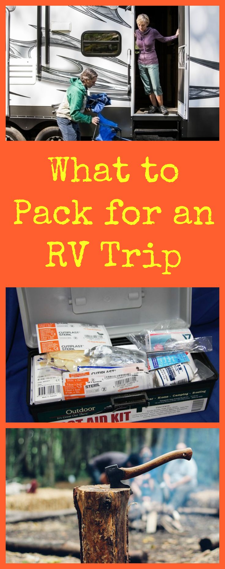 What to Pack for an RV Trip: Don't Forget the Basics - Next time you prepare for a camping vacation in an RV, these tips will help you get prepared! #InTheNation #ad