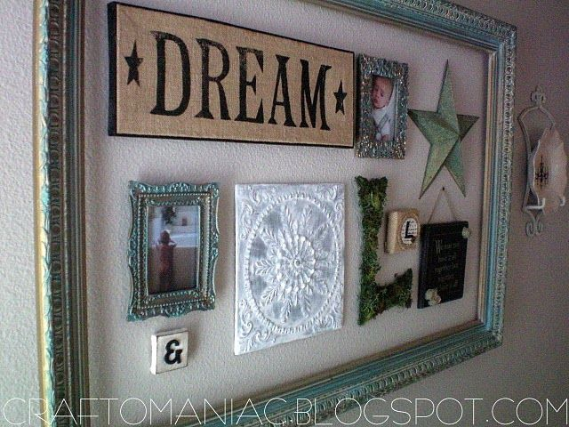 awesome idea to do with an empty picture frame... maybe something like this on one of the guest room walls.