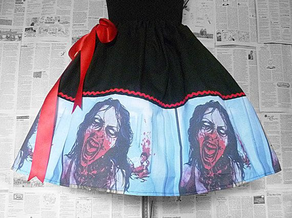 Hey, I found this really awesome Etsy listing at https://www.etsy.com/listing/162237172/zombiezombie-skirts-the-walking-dead