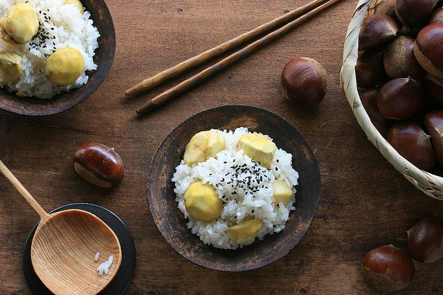 Kuri Gohan (Chestnut Rice) by bananagranola (busy), via Flickr