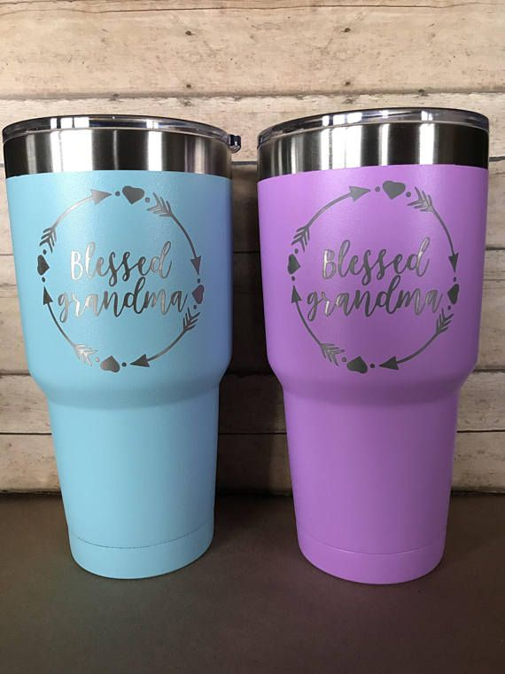 Teal Shimmer Personalized Stethoscope Powder Coated Stainless Steel Travel Mug