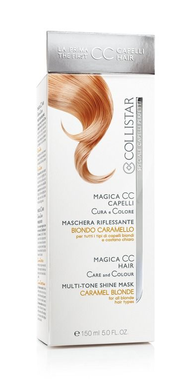 Magica CC Capelli Biondo Caramello#Collistar #MagicaCC #capelli #colore #nuance #tinta #color #biondo #blonde #caramello