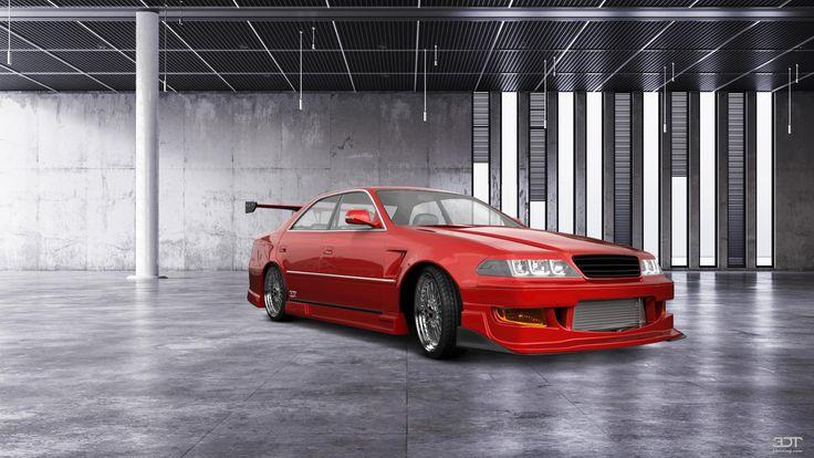 Checkout my tuning #Toyota #MarkIIX100 1999 at 3DTuning #3dtuning #tuning