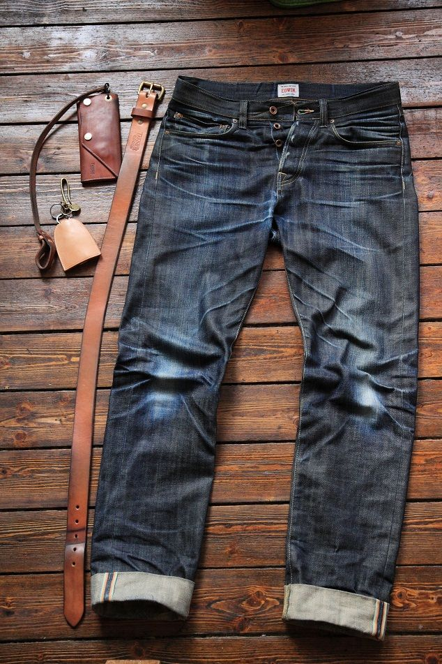 Edwin ED-49 Progress. We love it. Credits to Zin from Raw Denim forum. http://www.rawrdenim.com/forum/showthread.php?104063-Edwin-ED-49-(5-8-months-no-wash)