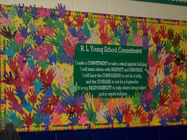 Check out our Bulletin Boards - Anti-bullying resources for your classroom