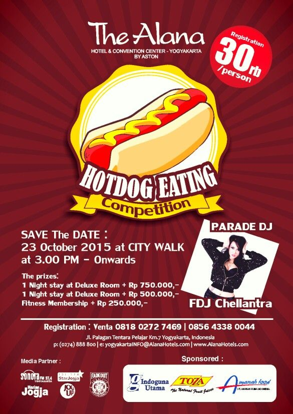 Hot Dog Competition