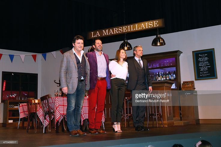 Photo d'actualité : Actors of the drama Philippe Lellouche, his wife...