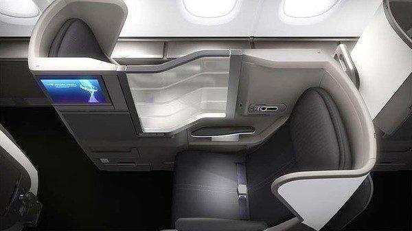 Club World seats - photo by BA (My Flight: British Airways Club World A380 from London to Los Angeles)