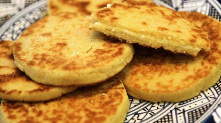 Harcha (Fas Usulü Mısır Ekmeği)