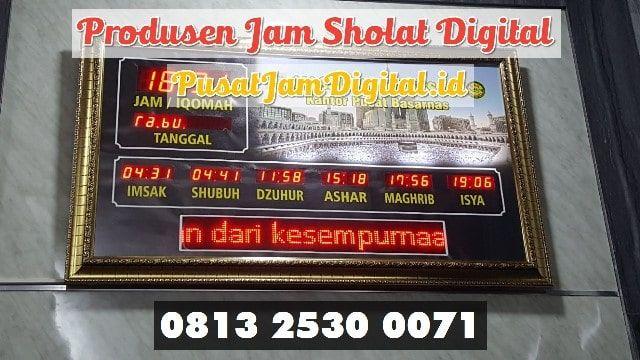 Jam Digital Mesjid Di Lingga Wa 0813 2530 0071 Workshop Running