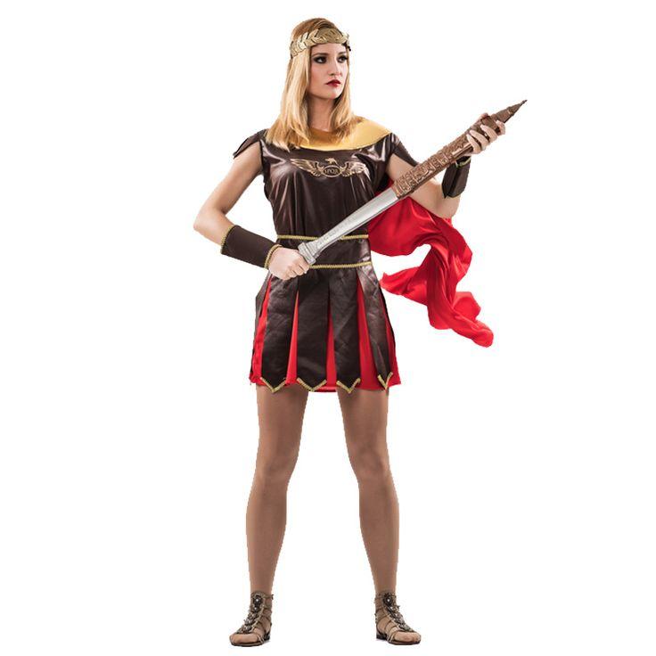 Déguisement Guerrière Romaine femme #déguisementsadultes #costumespouradultes #nouveauté2016