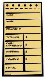This has Mormon written all over it - pay your tithing on line!