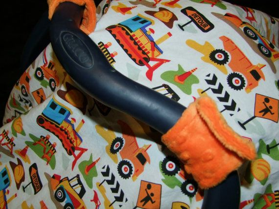 Construction ZONE Carseat Canopy
