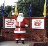 Have ALWAYS wanted to go here...   Holiday World Is One of the Last Independent Theme Parks: Santa reigns dearly at Holiday World