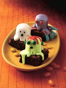 Spooky Brownies | Betty Crocker Recipe - So 'Ghouled', it's scary!