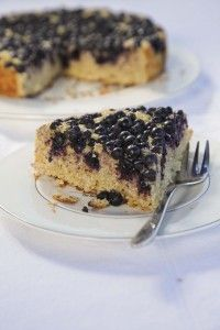 Coconut, Lime and Blueberry Cake | vamos a comer | Pinterest