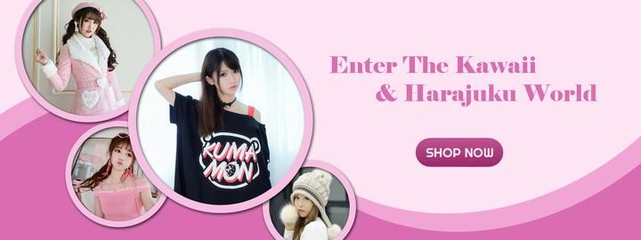 Harajuku Fever | Best Japanese Kawaii Harajuku Fashion Online Store