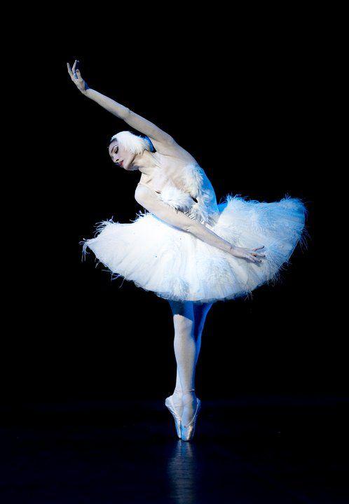 Irma Nioradze in The Dying Swan.  Photo (c) Stas Levshin.: Photo