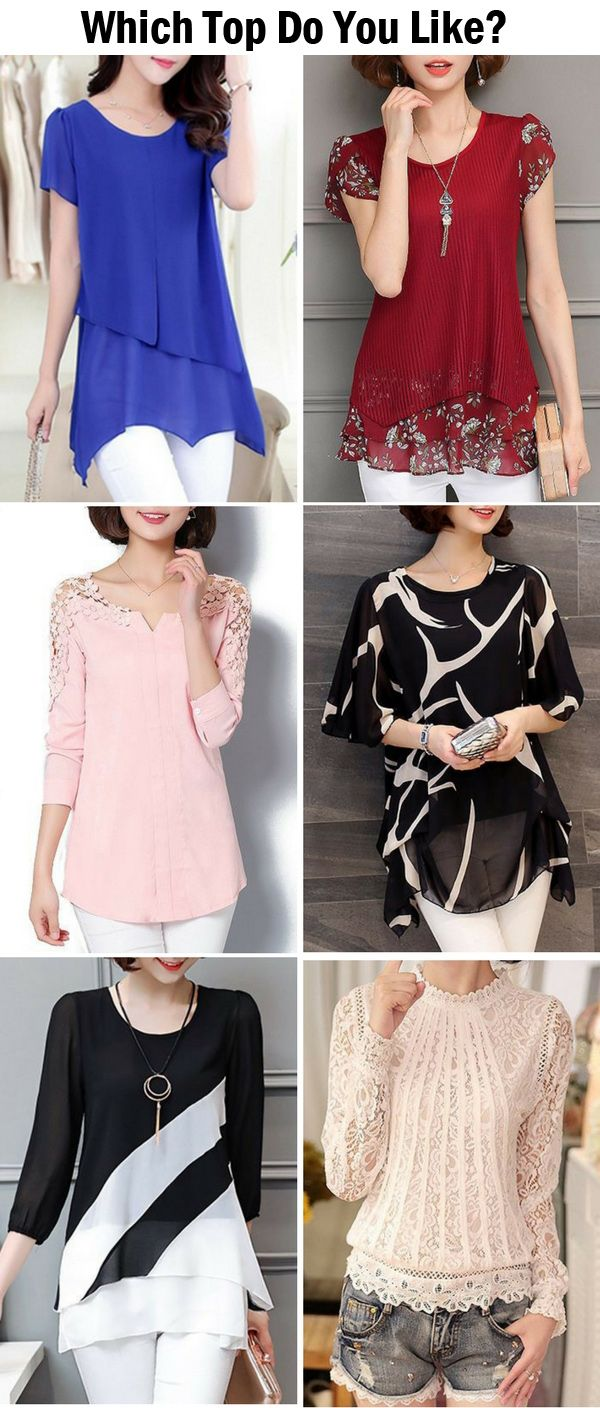 Classy tops for women, choose one to update your wardrobe now !