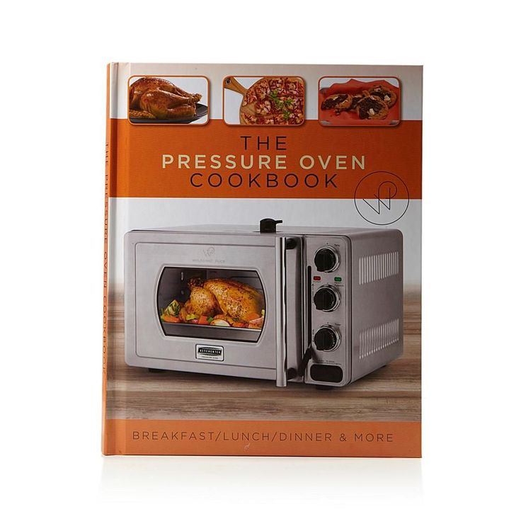 """Wolfgang Puck """"The Pressure Oven Cookbook"""" by Marian Getz"""