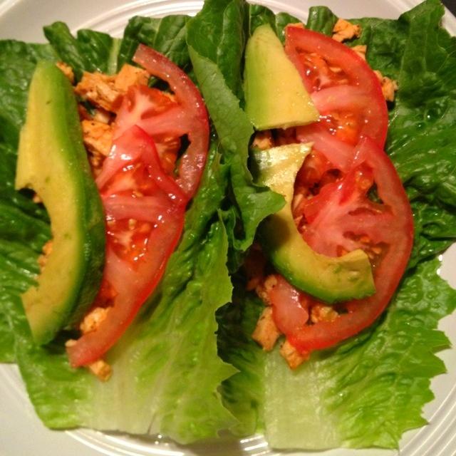 Spicy Chicken Lettuce Wraps. Delicious.   Healthy Life   Pinterest
