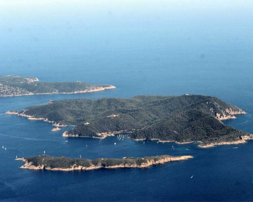 Port-Cros national park stretches between Port-Cros and Bagaud islands. Thanks to its 1,288 hectares of marine resources, it is now the first marine European park. Visit the small town of Port-Cros with a nice castle and an ancient harbour.