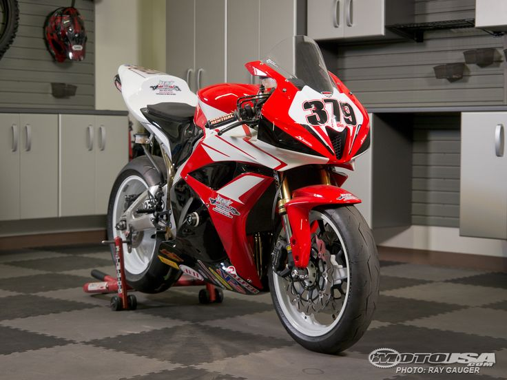 Our latest project bike the 2012 Honda CBR600RR, tuned up and ready to race the WERA series.
