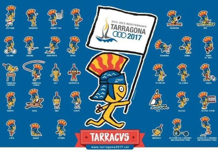 Los XVIII Juegos Mediterráneos se celebrarán en Tarragona 22 de junio al 1 de julio de 2018