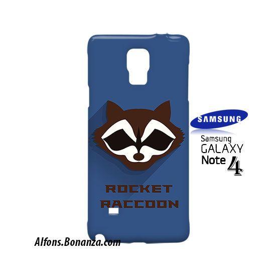 Rocket Raccoon Superhero Samsung Galaxy Note 4 Case