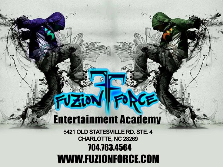 """We Are Fuzion Force Entertainment Academy! """"Where Fuzion Meets Force"""""""