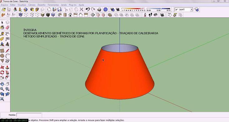 Método Simplificado de Traçado do Tronco de Cone