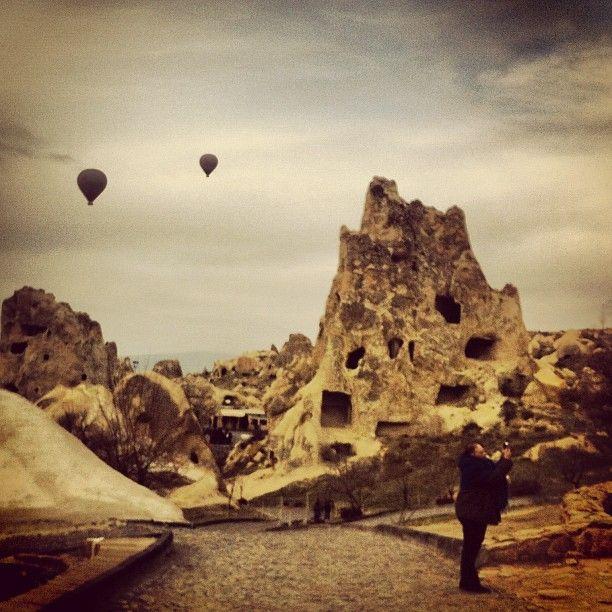 Göreme Açık Hava Müzesi in Nevşehir, Nevşehir, Turkey - Ancient Cave Dwellings and Churches where earliest Christians fled persecution - stayed in a cave hotel - amazing, historical, inspiring!