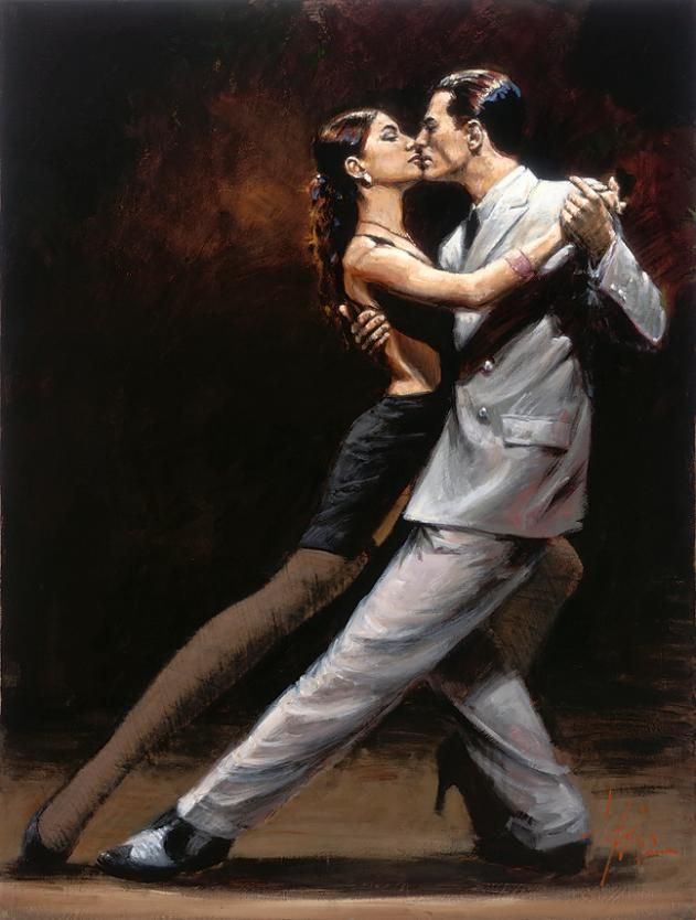 .... In this dance My Darling, You've ALWAYS had the lead, I just follow & follow your lead I will ..... Tango in Paris
