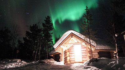 Looking forward to witnessing the #northernlights during the #Winter here at #HettaHuskies ! <3