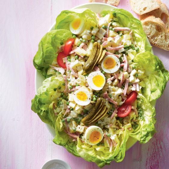 Huzarensalade van het huis, die smaakt extra lekker! #JumboSupermarkten #salade #recept