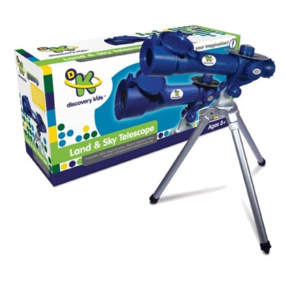 Discovery Kids - Land & Sky Telescope - Christmas Catalogue - Our Products - Entropy Australia#Entropywishlist and #pintowin  So they dont fight over the microscope