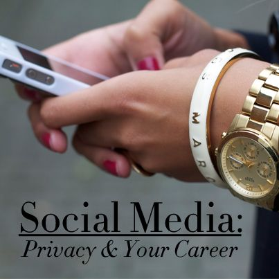 A Look at Social Media in the Job Search: Beyond Privacy Settings