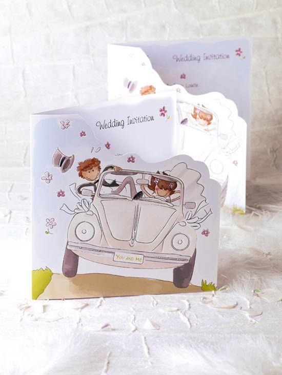 Choose The Interesting Cute Wedding Invitations Card
