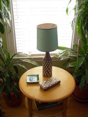 Raymor vase and box, via Flickr.